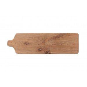 Δίσκος Σερβιρίσματος Tapas με πόδια από ξύλο teak 68x20x10 εκ