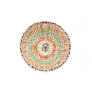 Διακοσμητική πιατέλα τοίχου Tortilla πολύχρωμη 50x11 εκ
