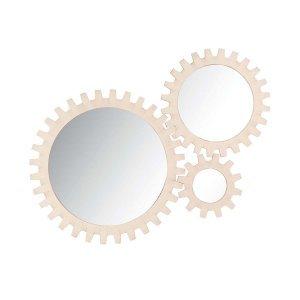 Επιτοίχιος καθρέφτης με γρανάζια