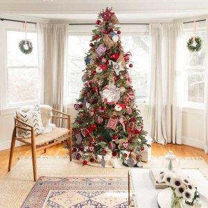 Classic Christmas ολοκληρωμένη διακόσμηση Χριστουγεννιάτικου δέντρου με 180 στολίδια