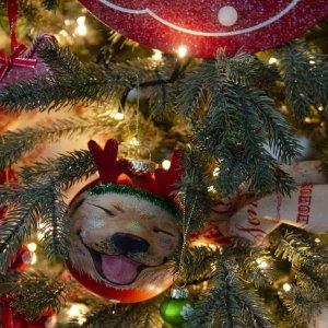 Pet Lover ολοκληρωμένη διακόσμηση Χριστουγεννιάτικου δέντρου με 107 στολίδια