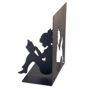 Μεταλλικός βιβλιοστάτης κορίτσι 20x14x23 εκ