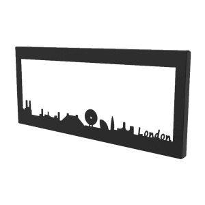 Κάδρο μεταλλικό Skyline London 35x2x15 εκ