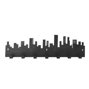 Μεταλλική κρεμάστρα Skyline επτά θέσεων 64x3x18 εκ