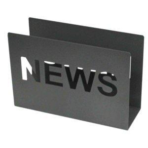 Μεταλλικό σταντ περιοδικών News σε τρία χρώματα 30x10x20 εκ