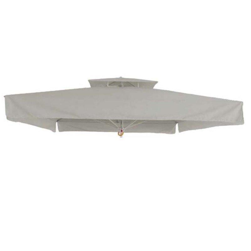 Τετράγωνο αδιάβροχο ανταλλακτικό πανί ομπρέλας 300x300 εκ