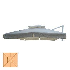 Ανταλλακτικό πανί ομπρέλας κρεμαστής 300x300 εκ