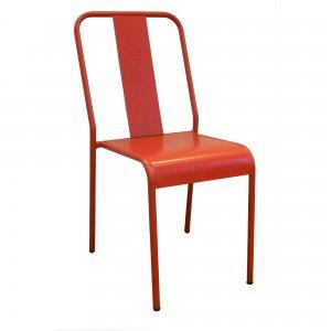 Laser Μεταλλική καρέκλα σε 3 χρώματα