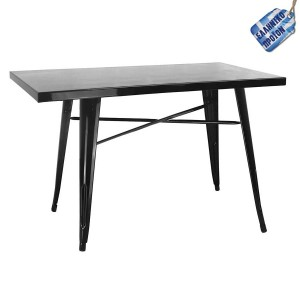 Industrial μεταλλικό τραπέζι 80Χ120Χ72 εκ