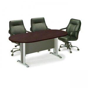 Οβάλ τραπέζι συνεδρίου wenge 180x90 εκ.