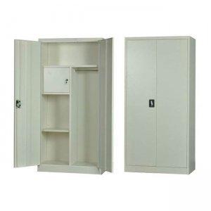 Ντουλάπα μεταλλική εσωτερικό ντουλάπι λευκή 90x45x185 &e