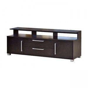 Decon έπιπλο tv σκούρο ξύλο 134x40x56 εκ.