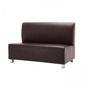 Bandy καναπές 2θέσιος pu καφέ