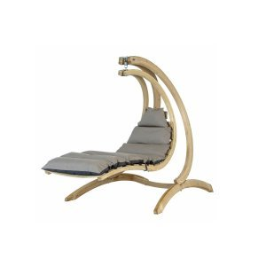 Swing Lounger Αιώρα κάθισμα κούνια με μαξιλάρι ανθρακί