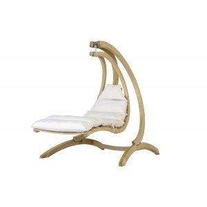 Swing Lounger Αιώρα κάθισμα κούνια με εκρού μαξιλάρι