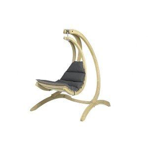 Αιώρα κάθισμα Swing Chair με ανθρακί μαξιλάρι