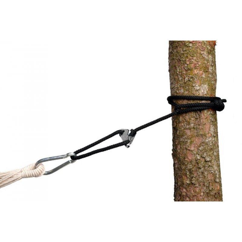 Σχοινί για στήριξη αιώρας Smartrope Μαύρο