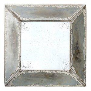 Αντικέ καθρέπτης τοίχου τετράγωνος κρακελέ 81x8x81 εκ