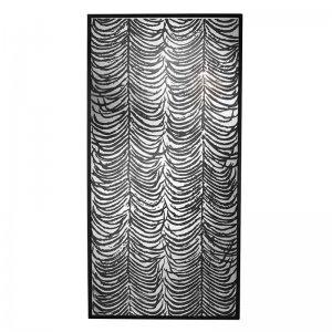 Καθρέπτης διακοσμητικός τοίχου Herero από γυαλί και ξύ&lambda