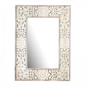 Boho σκαλιστός καθρέπτης Almirah 70x3x90 εκ