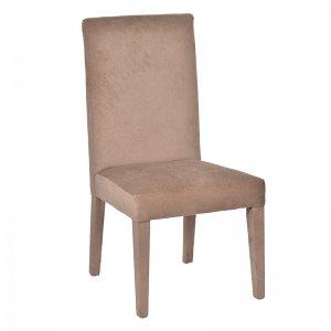 Καρέκλα Belmont από ξύλο και ύφασμα φυσικού χρώματος 55x64x107 ε&kappa