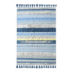 Cantic χαλί σε μπλε αποχρώσεις 160x230 εκ