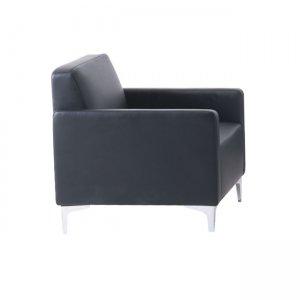 Style πολυθρόνα με pu μαύρο