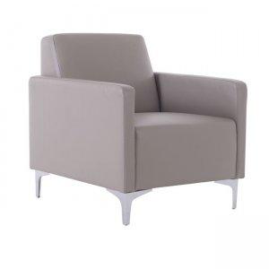 Style πολυθρόνα με pu sand grey