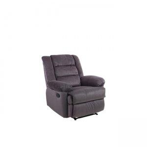 Relax πολυθρόνα Julia με καφέ ύφασμα 80x90x100εκ