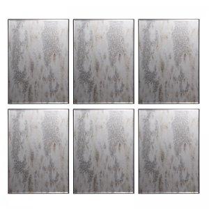 Industrial καθρέπτες τοίχου διακοσμητικοί σετ των έξι τεμ&