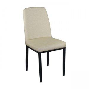Simon καρέκλα σε μπεζ χρώμα 53x44x90 εκ
