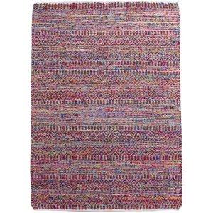 Sarah boho χαλί μάλλινο πολύχρωμο 120x180 εκ