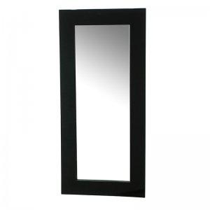 Καθρέπτης λακαριστός μαύρος 110x50 εκ