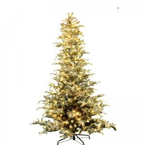 Χριστουγεννιάτικα Δέντρα με Φώτα και Οπτικές Ίνες