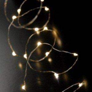 Χριστουγεννιάτικα Λαμπάκια Led με χάλκινα καλώδια