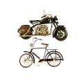 Vintage Μεταλλικά Διακοσμητικά  Ποδήλατα και Μοτοσυκλέτες