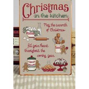 Christmas in Our Kitchen  Vintage Χριστουγεννιάτικο Ξύλινο Πινακάκι 20x30cm