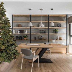 HalfBord Μισό Χριστουγεννιάτικο δέντρο τοίχου Full Pe 240 εκ