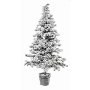 Albero Innevato χιονισμένο Χριστουγεννιάτικο δέντρο σε γλάστρα με ύψος 180 εκ