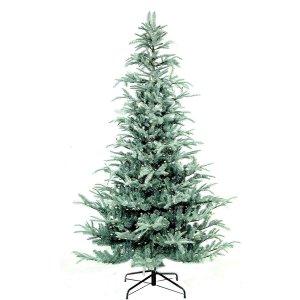 Aspenblue Pre-lite Χριστουγεννιάτικο δέντρο Mix PE με ενσωματωμένα 450 led  240 εκ