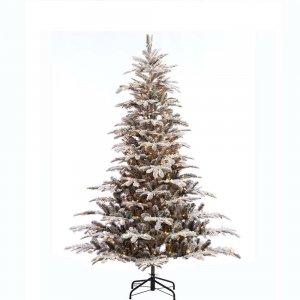 EchoApf Χριστουγεννιάτικο δέντρο χιονισμένο prelight και ύψος 210 εκ