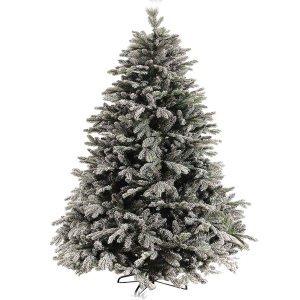EchoLachat Χριστουγεννιάτικο δέντρο χιονισμένο με mix κλαδιά και ύψος 180 εκ