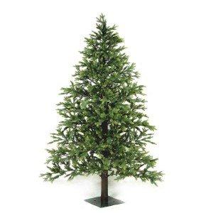 EchoNopiwood Χριστουγεννιάτικο δέντρο Full PE και ξύλινο φυσικό κορμό σε ύψος 180 εκ