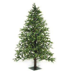 EchoNopiwood Χριστουγεννιάτικο δέντρο Full PE και ξύλινο κορμό σε ύψος 210 εκ
