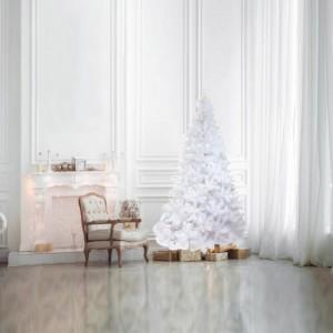 Χριστουγεννιάτικο δέντρο Λευκό ιριδίζον 150cm