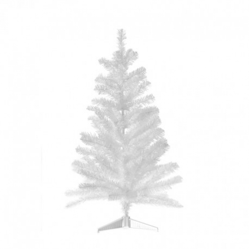 Mini White Χριστουγεννιάτικο μίνι δεντράκι Λευκό 80cm