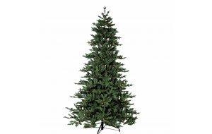 Mont Blanc Χριστουγεννιάτικο δέντρο με mix κλαδιά και ύψος 240 εκ