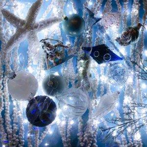 Under the sea ολοκληρωμένος στολισμός Χριστουγεννιάτικου Δέντρου 80 τεμαχίων