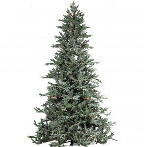 Olympus Frosted παγωμένο Χριστουγεννιάτικο δέντρο με ύψος 300 εκ