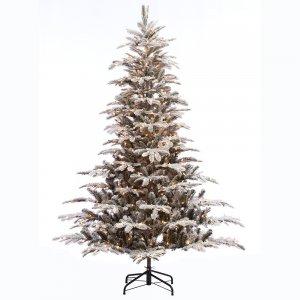 EchoApf χιονισμένο Χριστουγεννιάτικο δέντρο με mix κλαδιά και ύψος 270 εκ